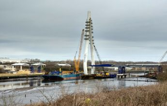 The New Wear Crossing is an impressive new bridge structure, ECoW, bridge, sunderland