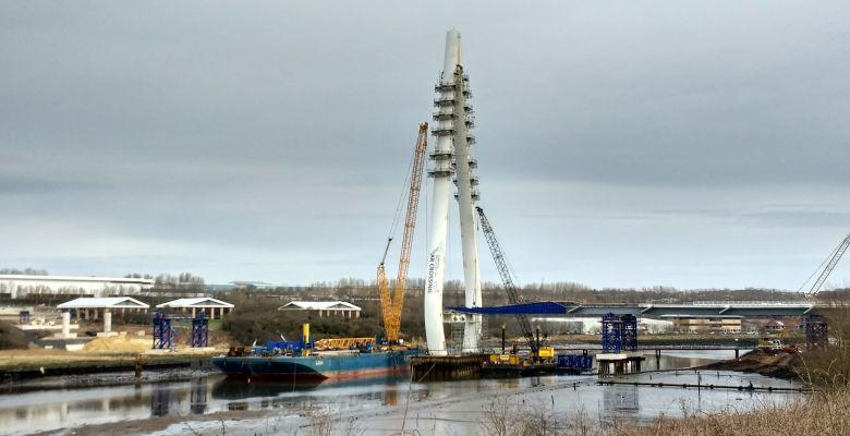 The New Wear Crossing is an impressive new bridge structure, ECoW, bridge, sunderland