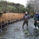 River bank stabilisation by Thomas Wilson and Angus Walker of EcoNorth